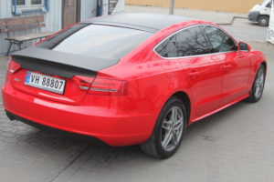 Audi A5 Diamond Wash