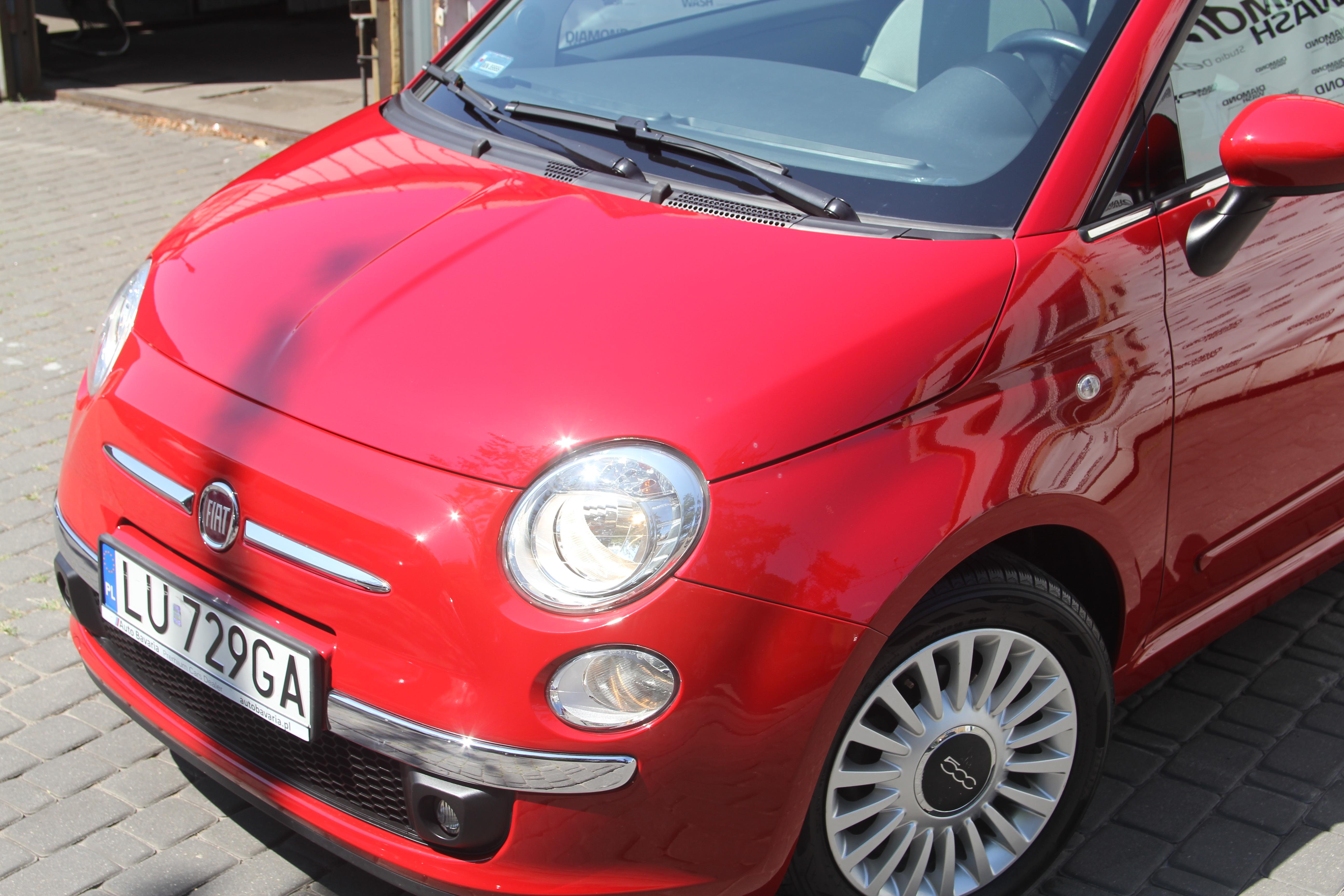 Fiat 500 polerowanie