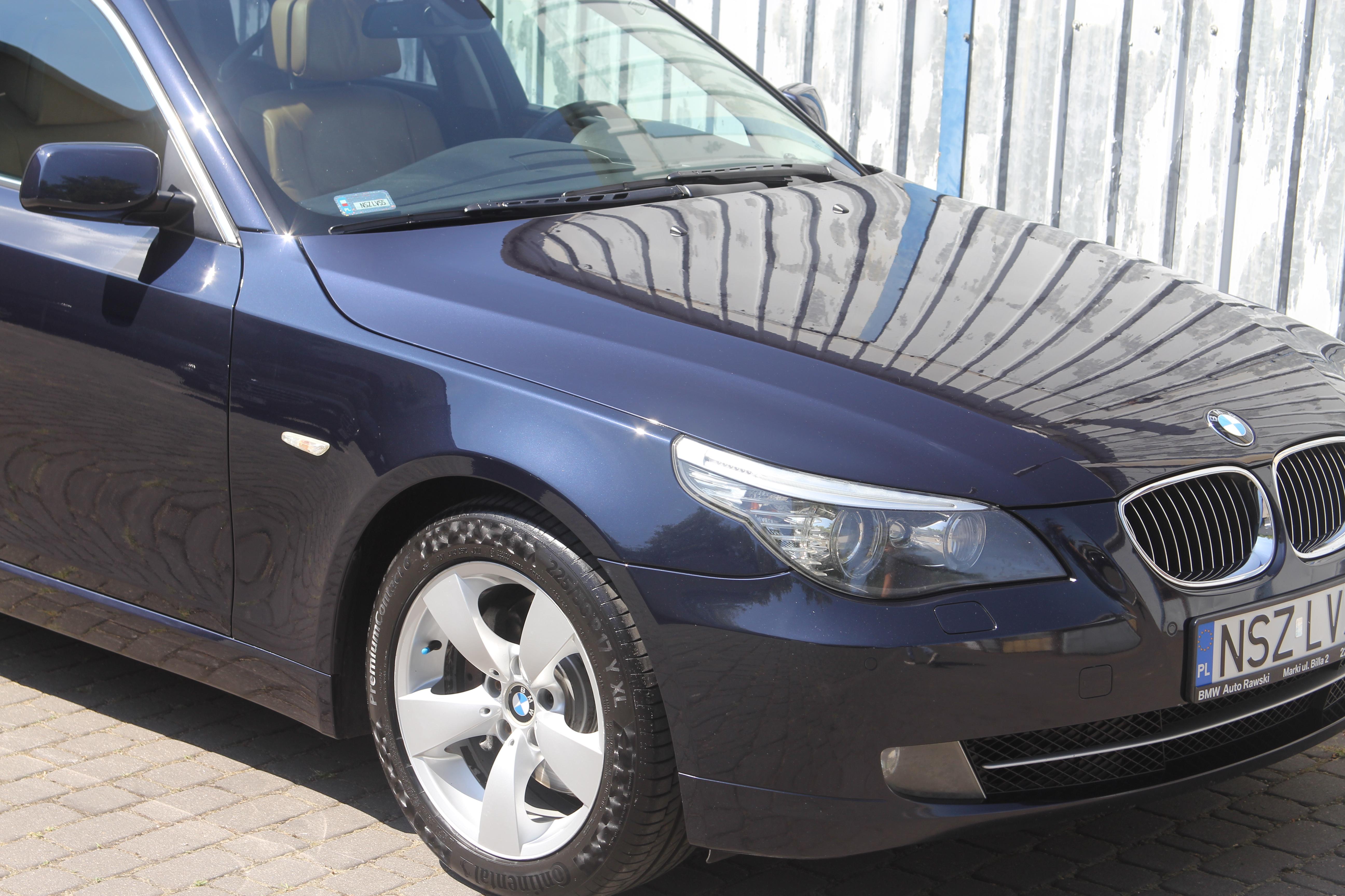 BMW E61 polerowanie