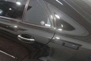 mercedes e500, detailing, polerowanie lakieru, powłoka ceramiczna, kube bond, detailing warszawa