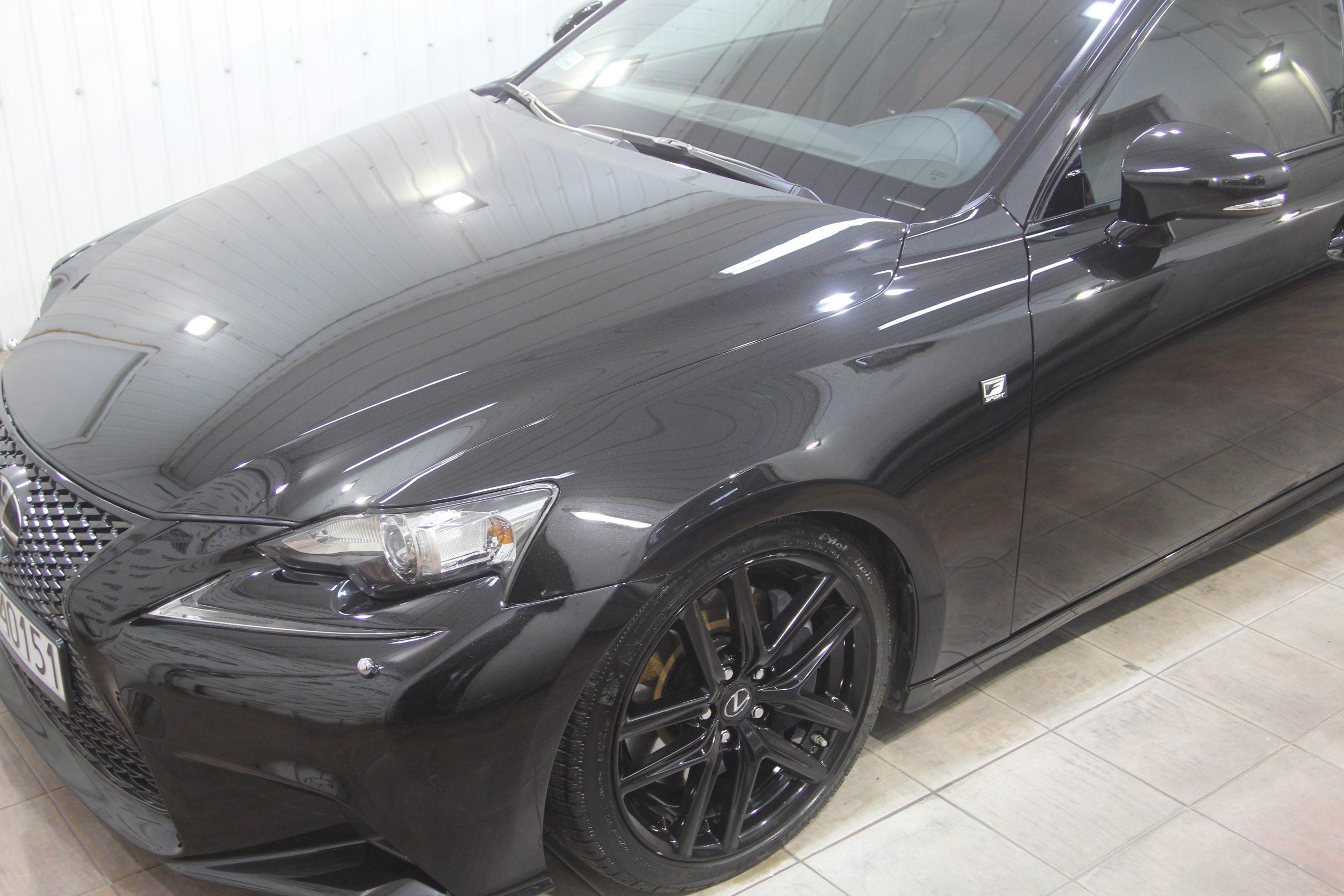 Lexus IS polerowanie + kwarc