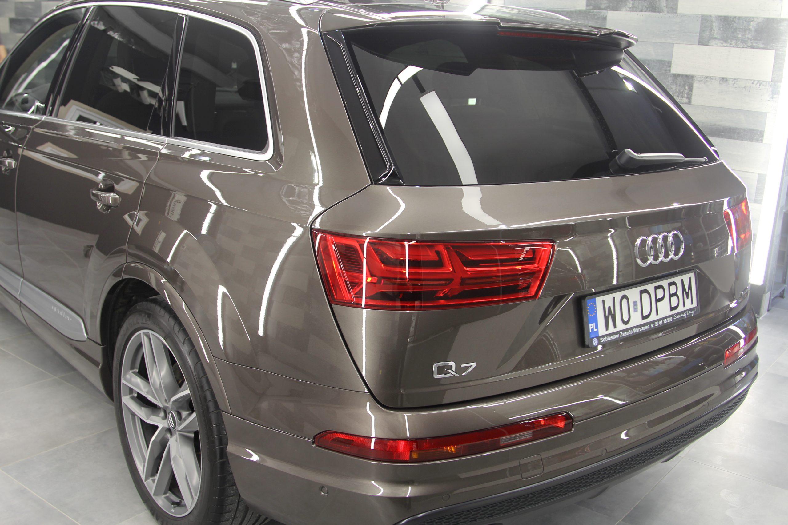 Audi Q7 na sprzedaż